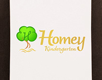 Homey Kindergarten - Logo