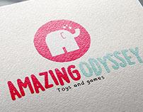 Logo proposal for Amazing Odyssey