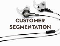 Customer Sagementation for BOSE