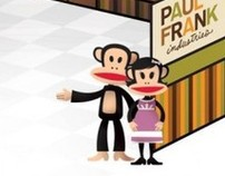 Paul Frank Trade Show Booth