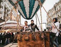 Воздушный шар для Дня Москвы