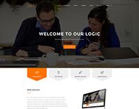 Multipurpose Website Design--- Free PSD