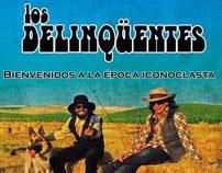 Cover desing Delinqüentes BEI edición para Argentina