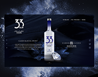Vodka Spirit website design