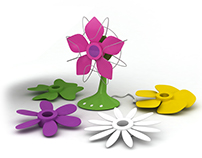 Flower Fun Fan