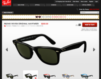 Rayban Store Redesign
