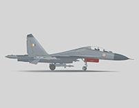 Portraits of IAF Fighter Jets
