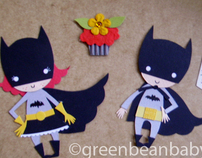 superhero embellishment love