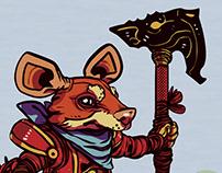 Caballero Ratón de la Orden del Ojo de Gato