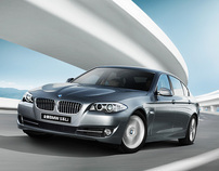 BMW 540L Launch CHINA
