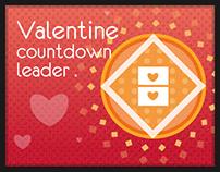 ♥ Valentines Day Countdown Leader