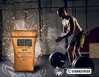 Whey Protein social ad