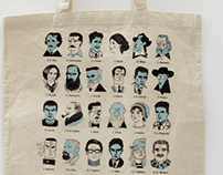"Tote Bags ""Writers"" #3"