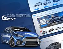 Сar rental website
