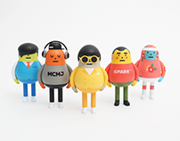 MUHAN DOJEON X STICKY MONSTER LAB