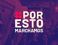 #PORESTOMARCHAMOS