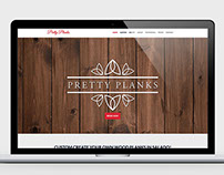 Pretty Planks website