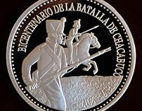 Medalla Bicentenario Batalla de Chacabuco