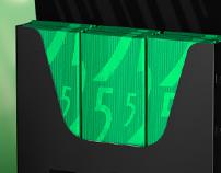 3D Wrigley 5 brand gum