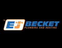 EJ Becket (Plumber) - Logo, Stationery & Signage Design