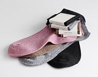 Label socks