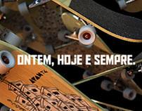 Skateboard - ontem hoje e sempre