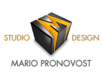 Official logo for STUDIO M DESIGN MARIO PRONOVOST INC.