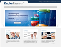 Kepler Research | DC WordPress Design