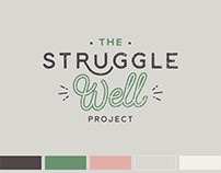 Brand Identity Design for Struggle Well Podcast