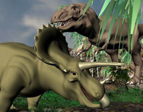 3-D Dinosaurs