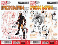 Iron Man Variant Covers