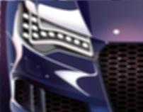 AUDI RS6 AVANT/CLAY