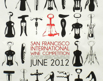 San Francisco International Wine Competition Poster
