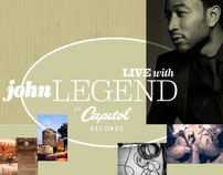 Live With John Legend at Capitol Studios