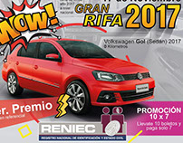 Rifa RENIEC 2017 - Afiche