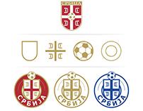 Redesign concept logo Fudbalski savez Srbije / FSS
