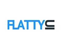 FlattyUI - UI kit
