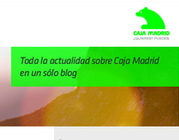 Blog Caja Madrid online