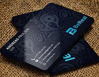 BEAUTIFUL PATTERN BUSINESS CARD