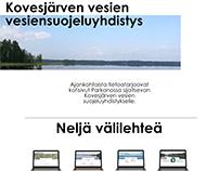 Vesiensuojeluyhdistyksen kotisivut