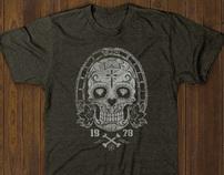 T-shirt designs - Skull vectors