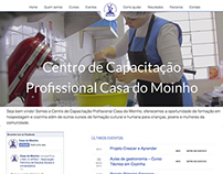 WebSite Development and Web Design - Casa do Moinho
