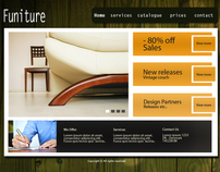 WEBDESIGN - Template Design designed in Photoshop