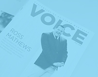 VOICE Magazine Redesign - Fall 2014