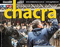 MAGAZINE DESIGN 2018 - LA RURAL #CHACRA #Palermo