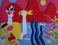 """Mural """"Despierta Topolobampo"""""""