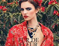 """""""Fur de Fleur"""". Ellements Magazine, May 2016."""