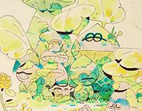 Marker Doodles Artworks