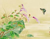 邹传安---工笔花鸟画