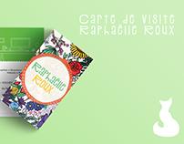 Carte de visite Raphaëlle Roux
